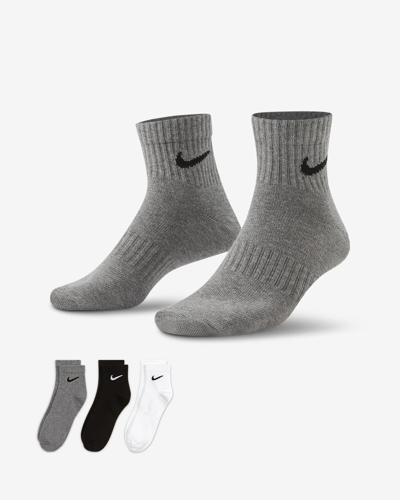 Nike Everyday Lightweight Training Ankle Socks (3 Pairs)