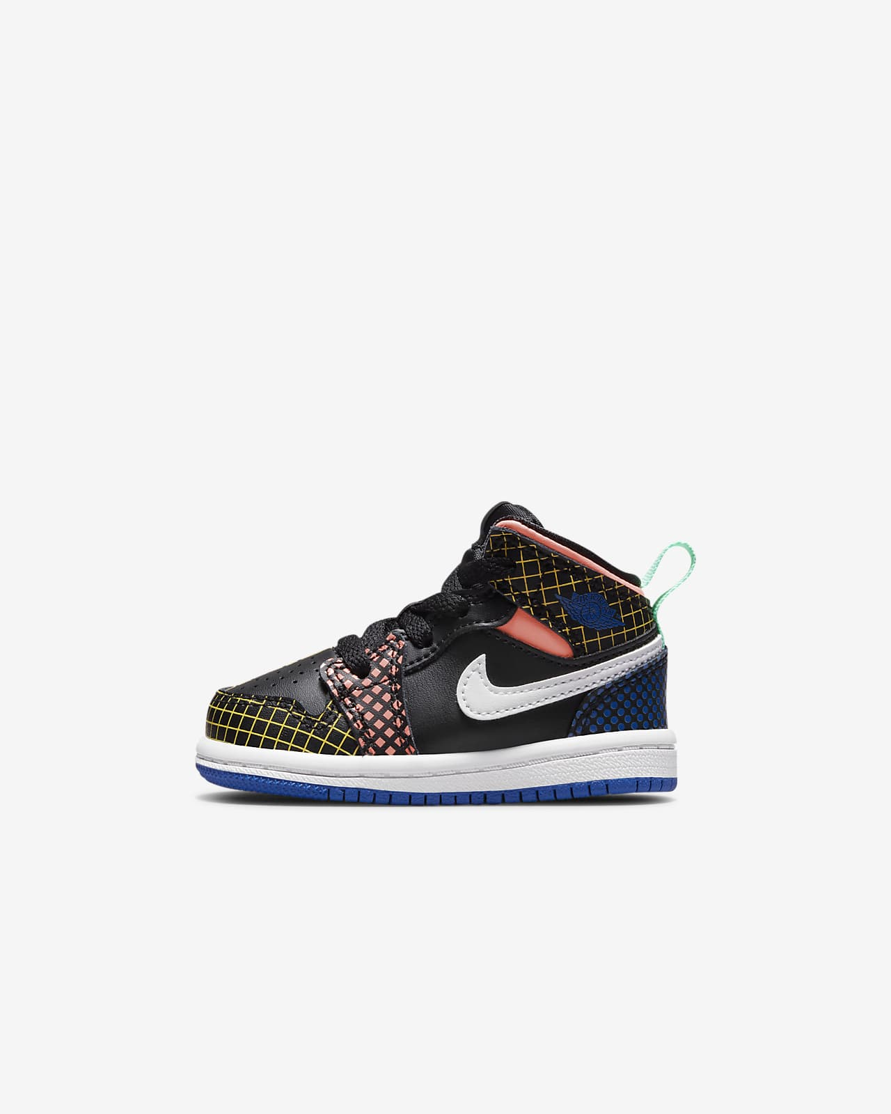 Jordan 1 Mid MMD Baby/Toddler Shoes