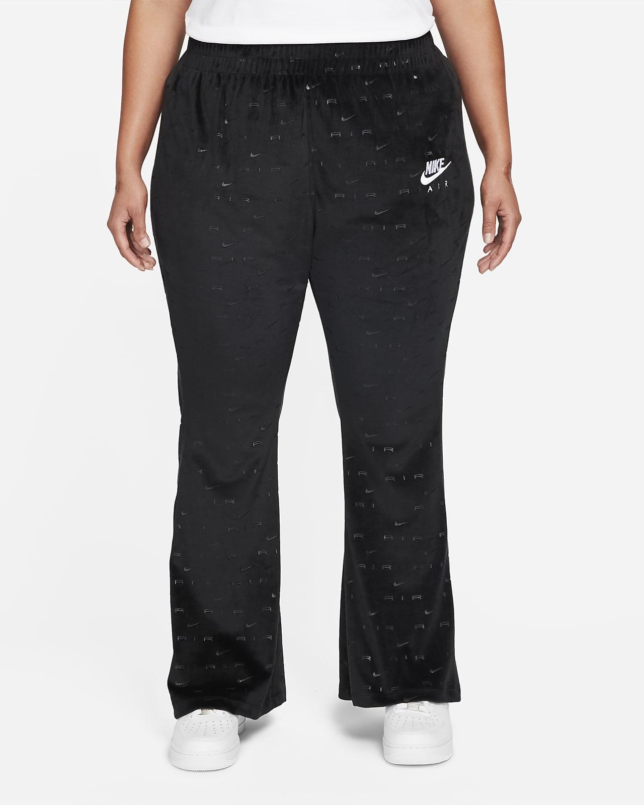 Nike Air Women's Velour Mid-Rise Pants (Plus Size)