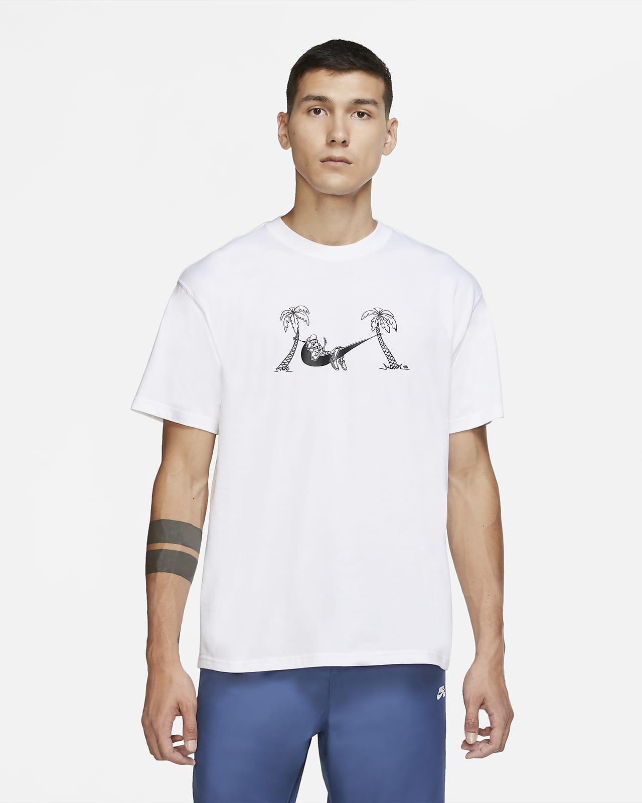 เสื้อยืดสเก็ตบอร์ดขาสั้นผู้ชาย Nike SB