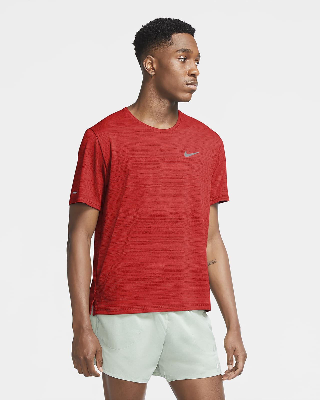 Nike Dri-FIT Miler-løbetop til mænd