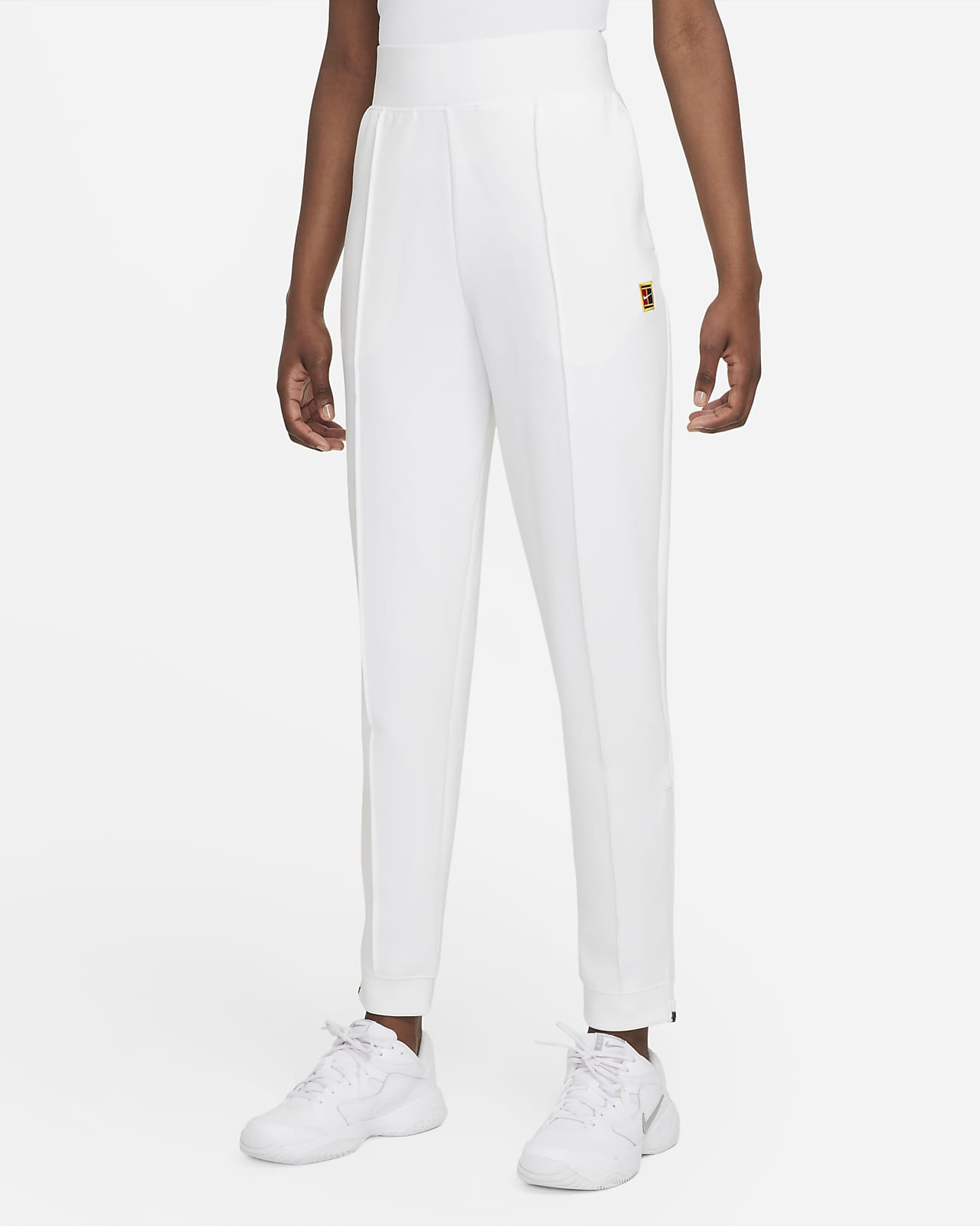 NikeCourt Dri-FIT Pantalons de tennis de teixit Knit - Dona