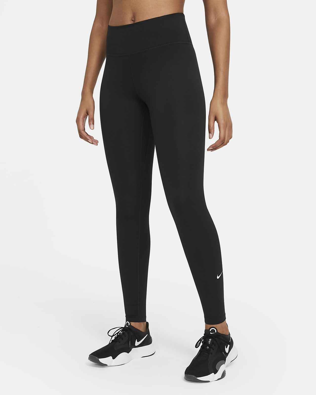 Женские леггинсы со средней посадкой Nike Dri-FIT One