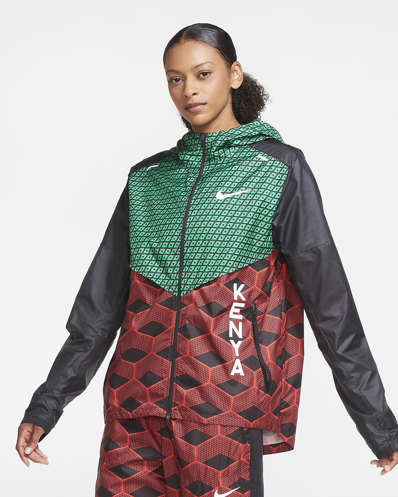 Chamarra de running Nike Team Kenya Shieldrunner