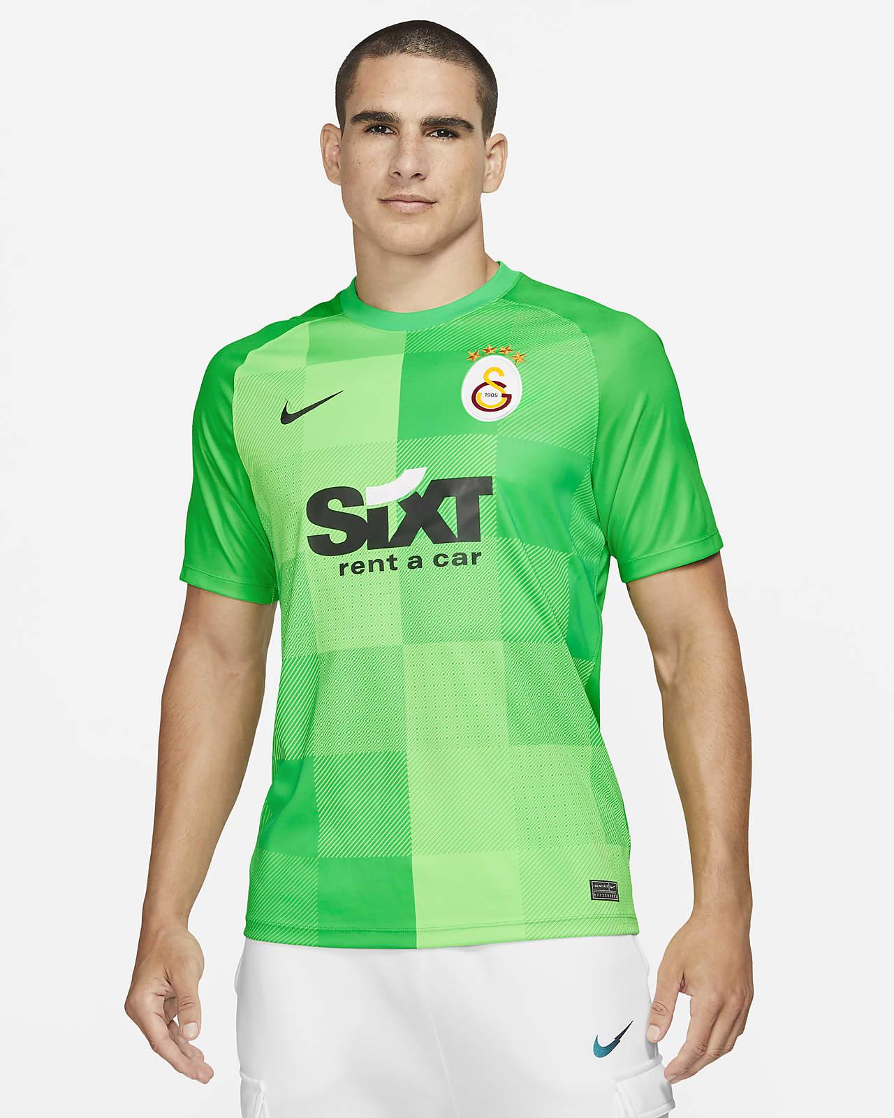 Galatasaray Kaleci Kısa Kollu Erkek Futbol Üstü
