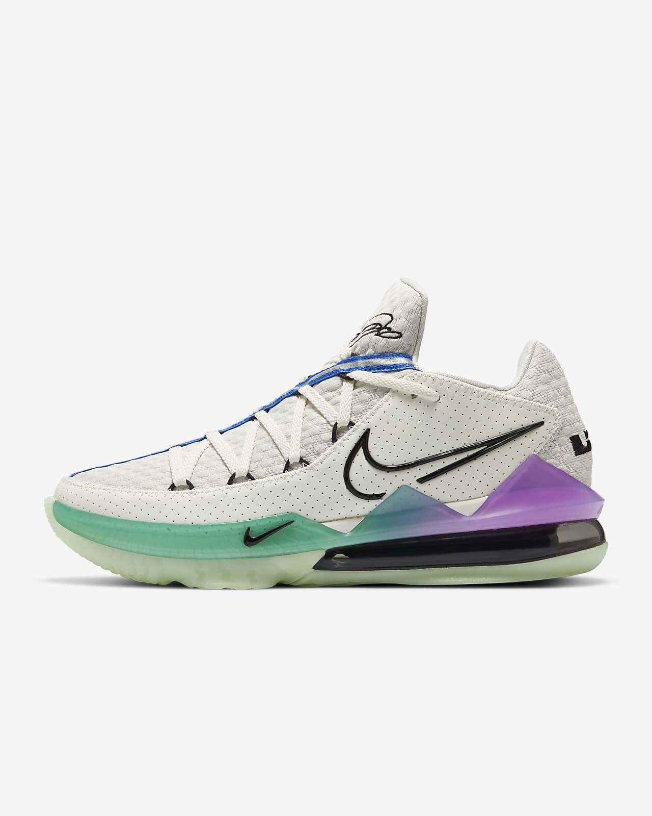 LeBron 17 Low Basketballschuh