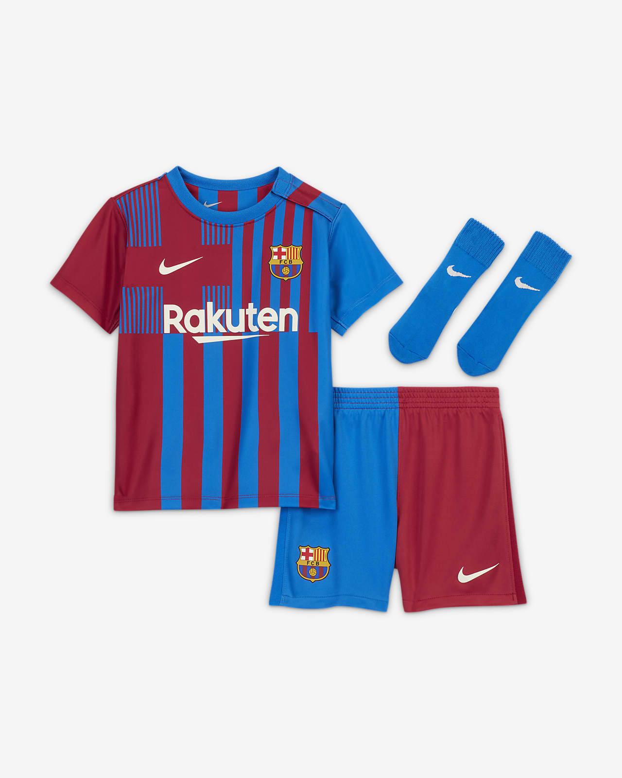 Divisa da calcio FC Barcelona 2021/22 per neonati/bimbi piccoli - Home