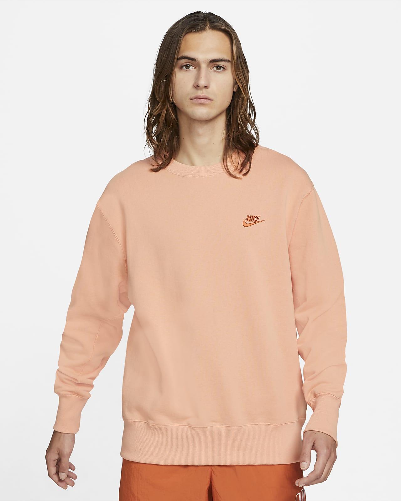 Sudadera clásica de tejido Fleece para hombre Nike Sportswear