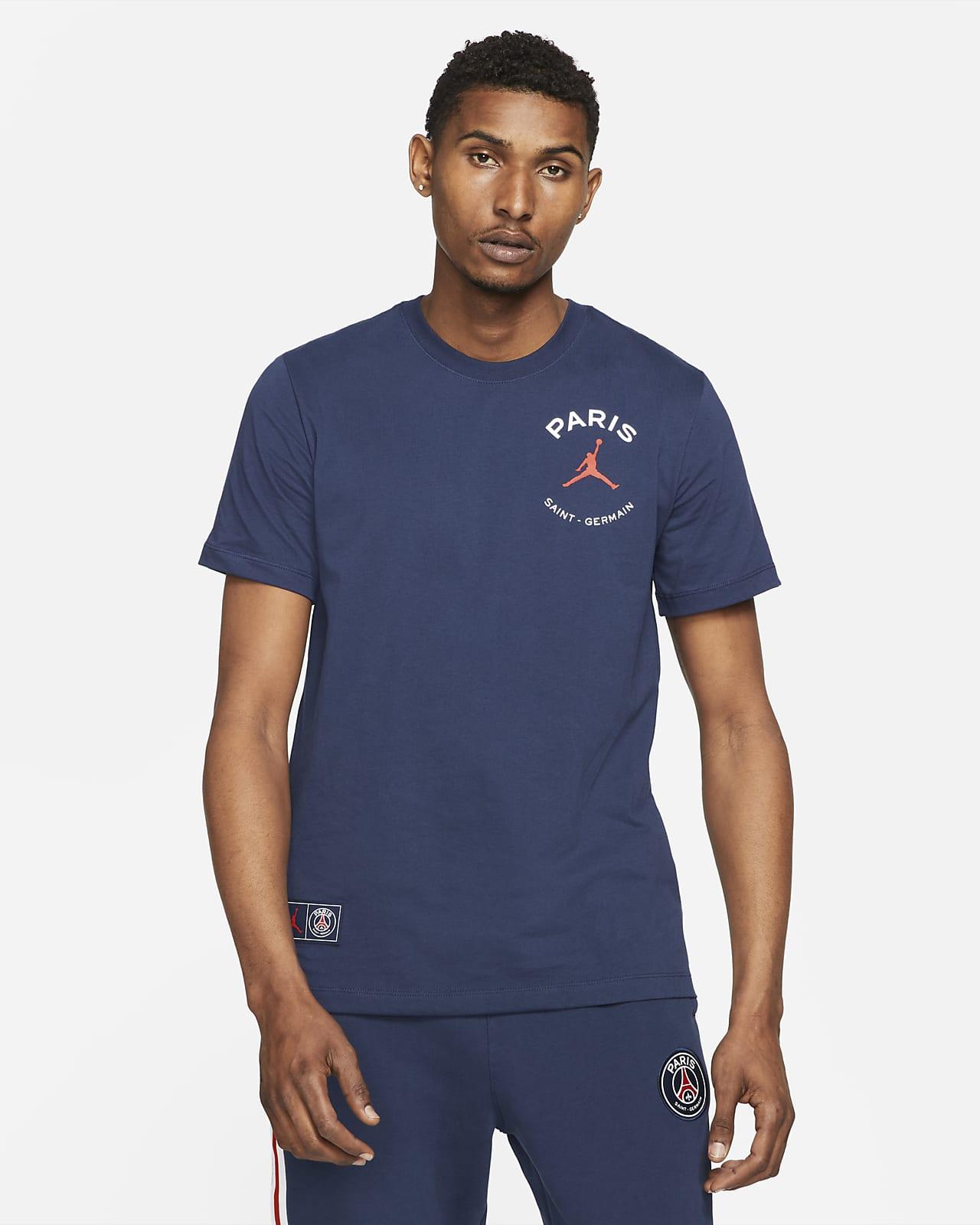 Paris Saint-Germain T-skjorte med logo til herre