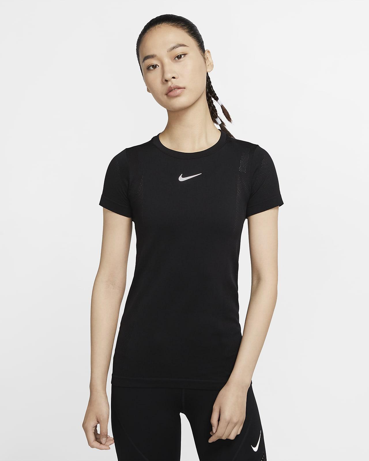 Женская беговая футболка Nike Infinite