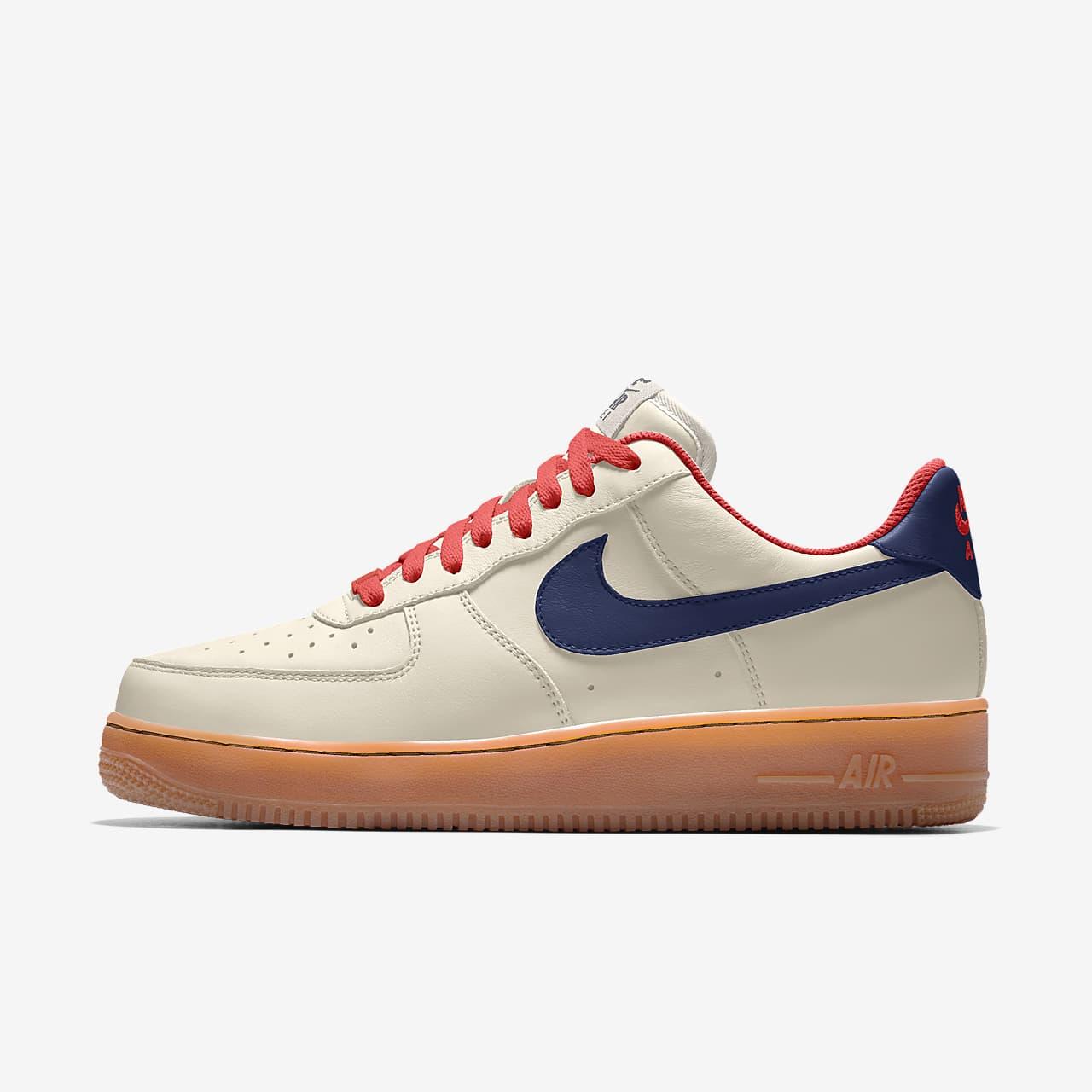 Nike Air Force 1 低筒 By You 專屬訂製女鞋