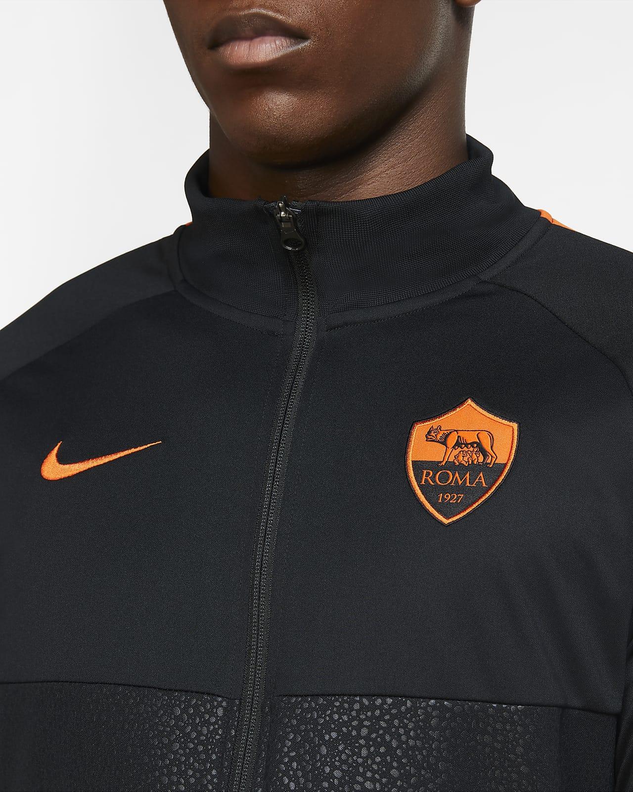 Despedida Rústico Bienvenido  AS Roma Chaqueta de chándal de fútbol - Hombre. Nike ES