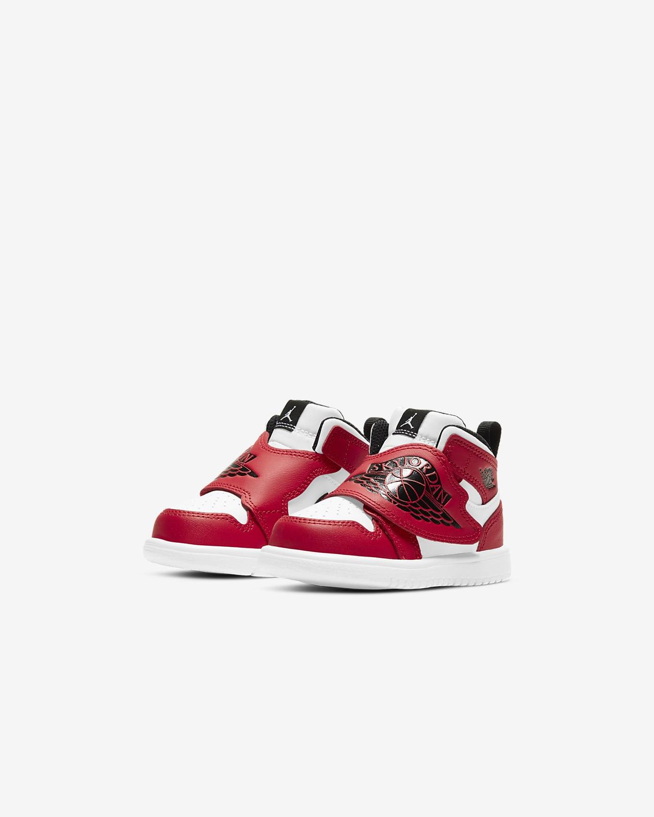 Chaussure Sky Jordan 1 pour Bébé et Petit enfant. Nike LU