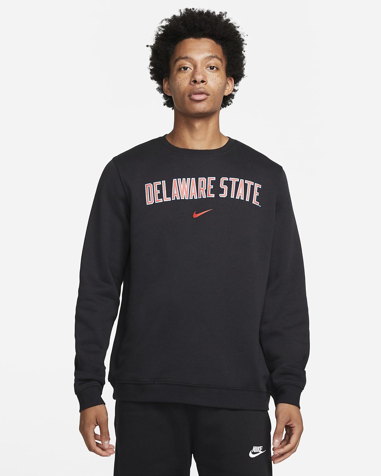Nike College Club Fleece (Delaware State) Crew Sweatshirt