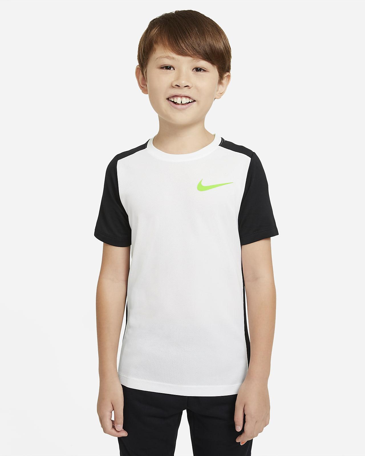 Nike Instacool Older Kids' (Boys') Short-Sleeve Training Top