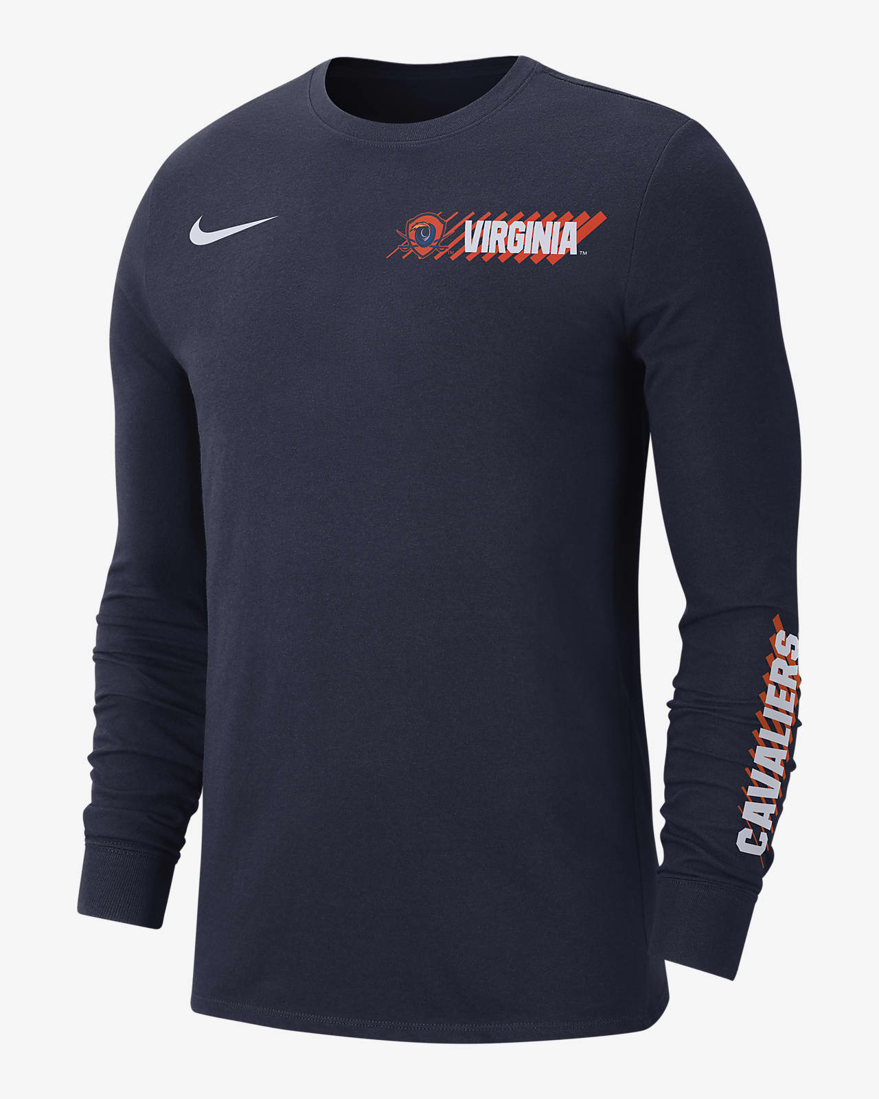 Nike College Dri-FIT (Virginia) Men's Long-Sleeve T-Shirt