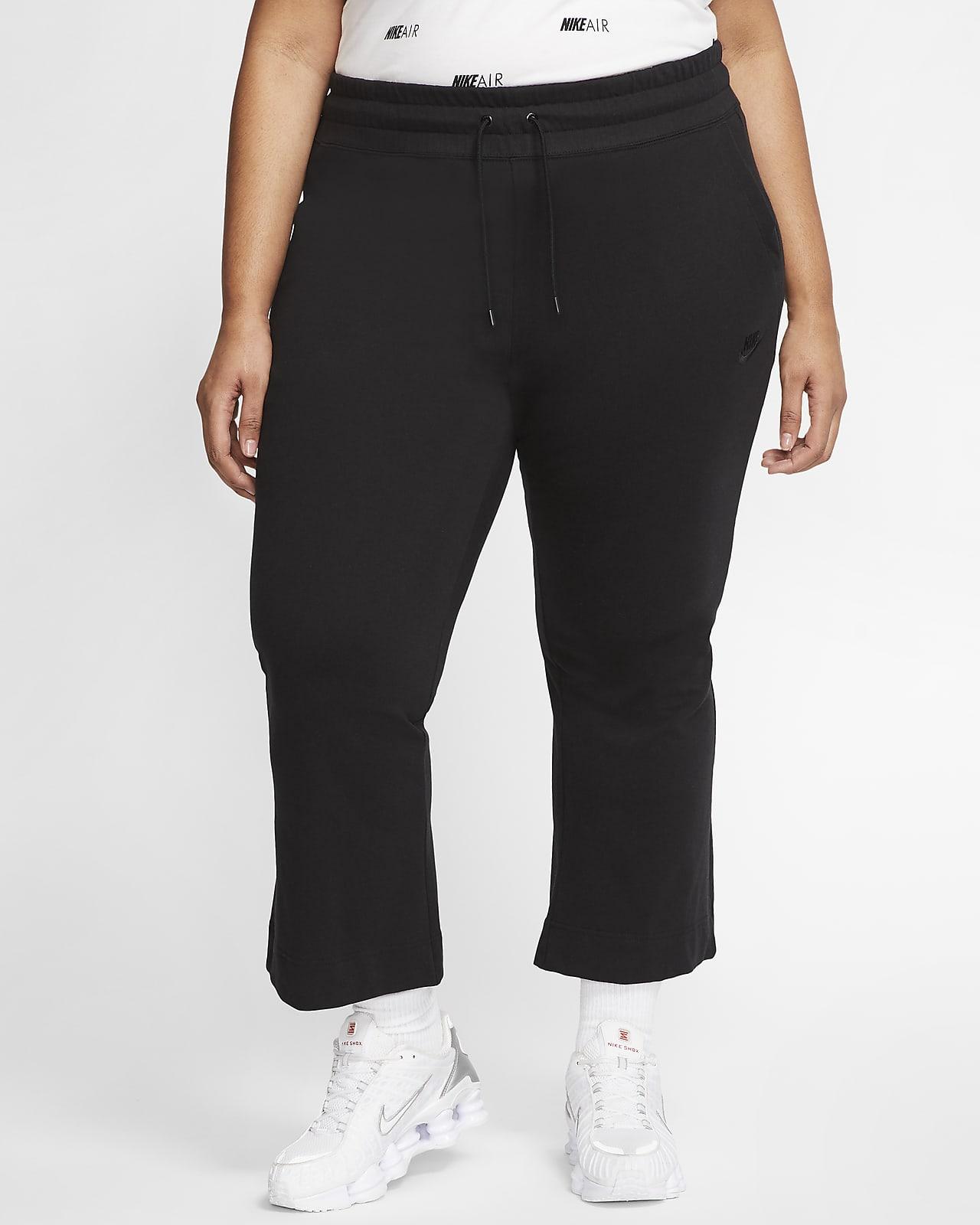 Nike Sportswear bukse i jersey til dame (store størrelser)