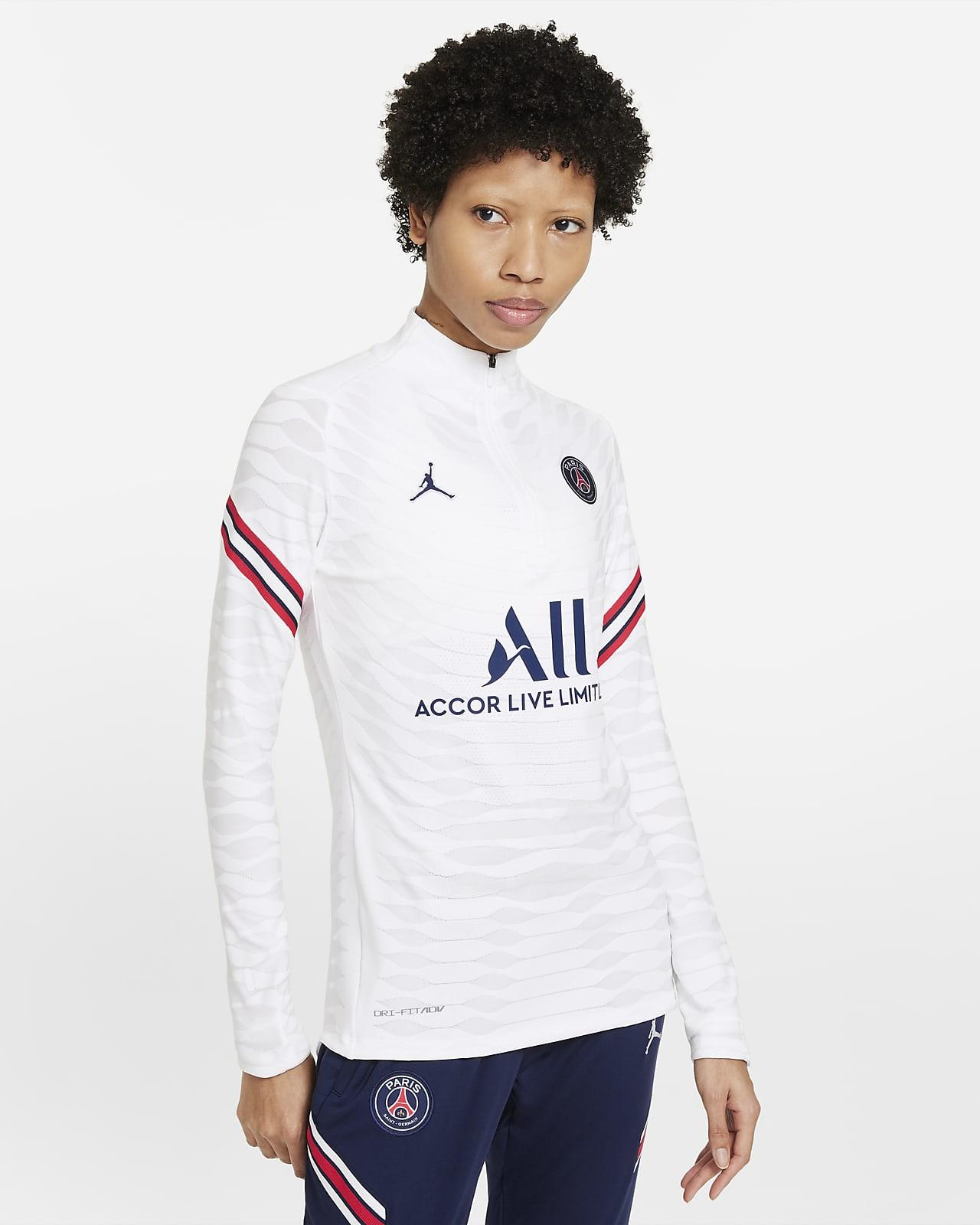 Damska treningowa koszulka piłkarska Nike Dri-FIT ADV Paris Saint-Germain Strike Elite (wersja domowa)
