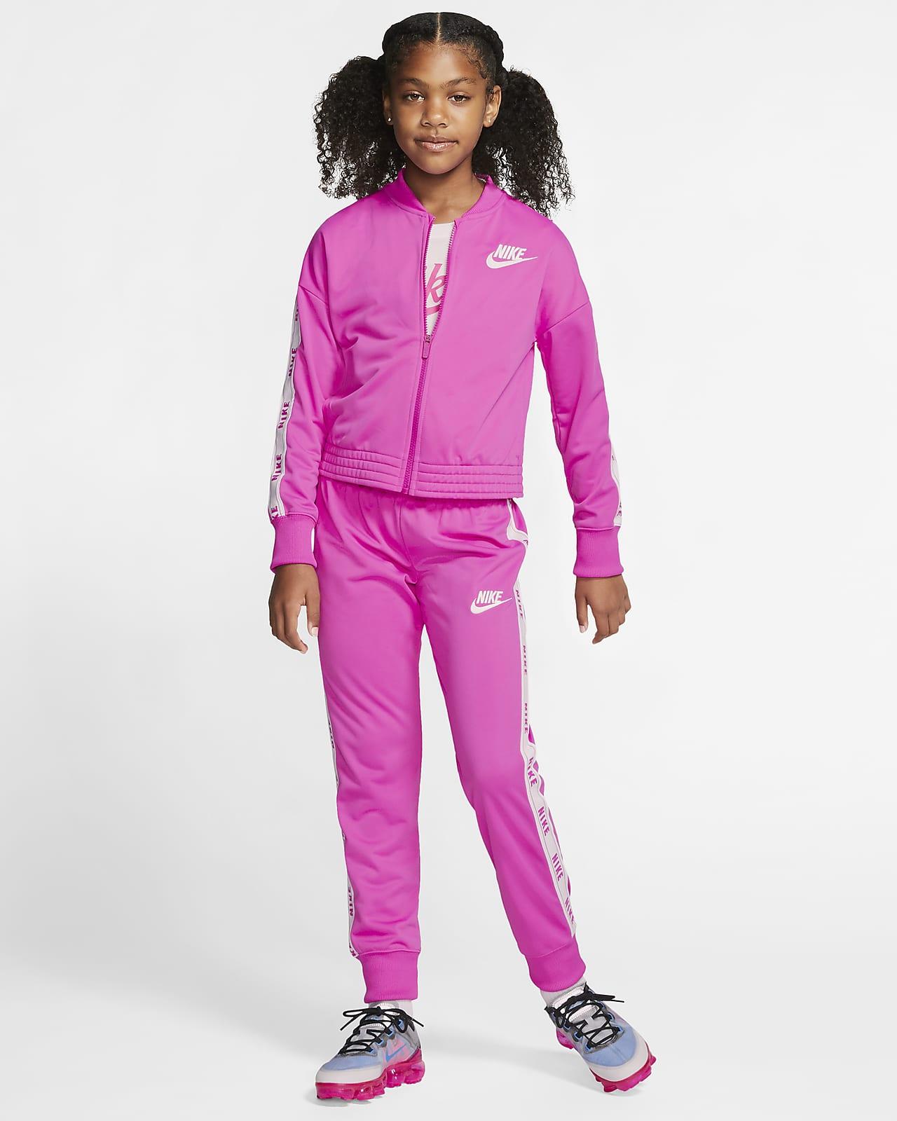 Nike Sportswear tracksuit til jente