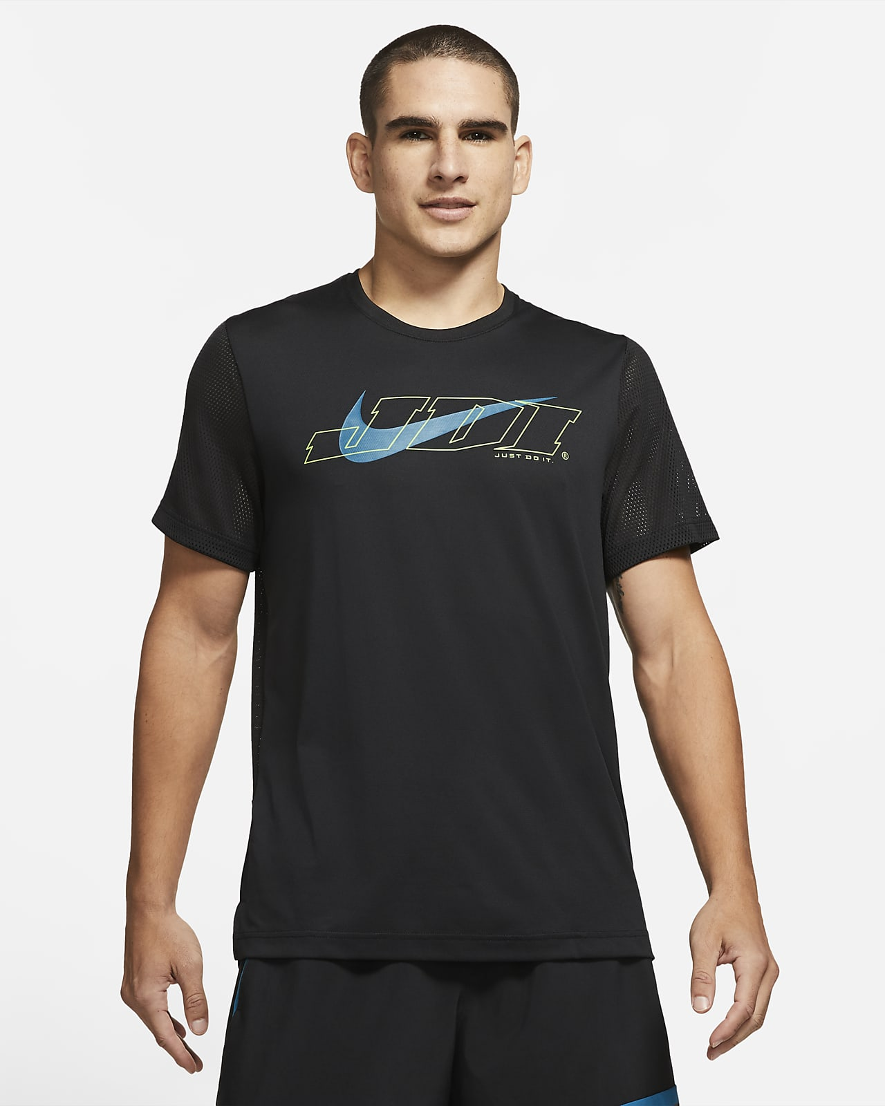 Nike Sport Clash Kısa Kollu Erkek Antrenman Üstü