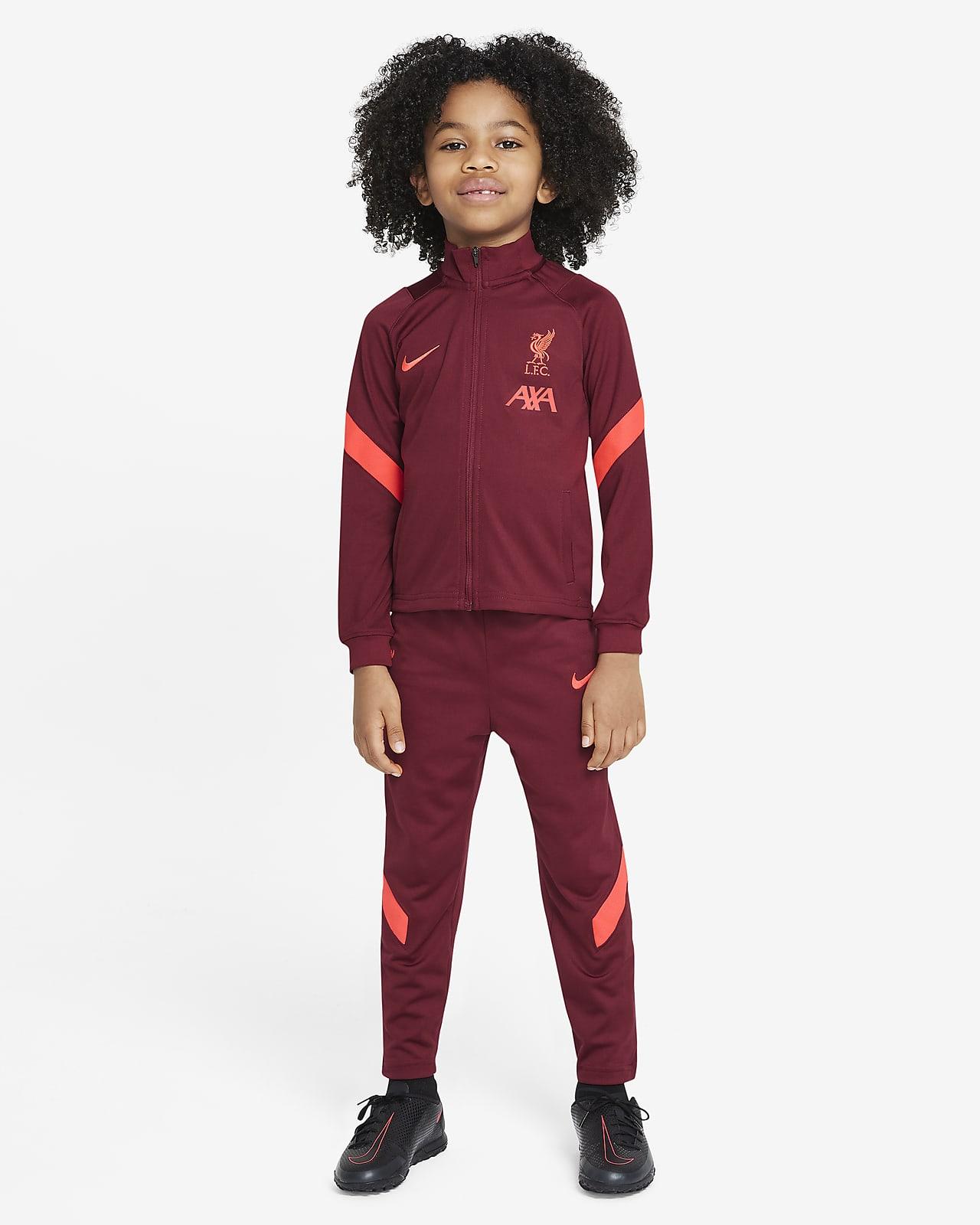 Футбольный костюм для дошкольников Liverpool FC Strike