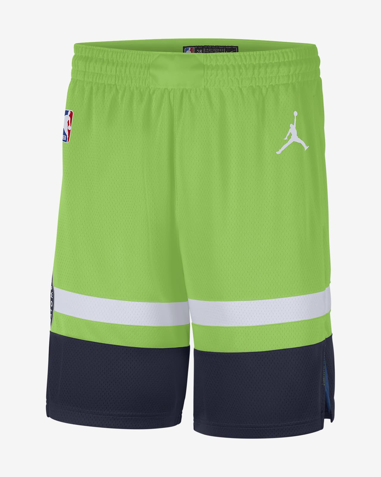 Timberwolves Statement Edition 2020 Men's Jordan NBA Swingman Shorts