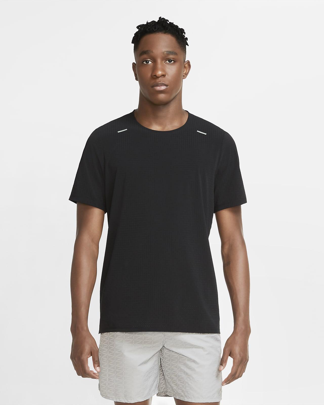 เสื้อวิ่งแขนสั้นผู้ชาย Nike Run Division Adapt