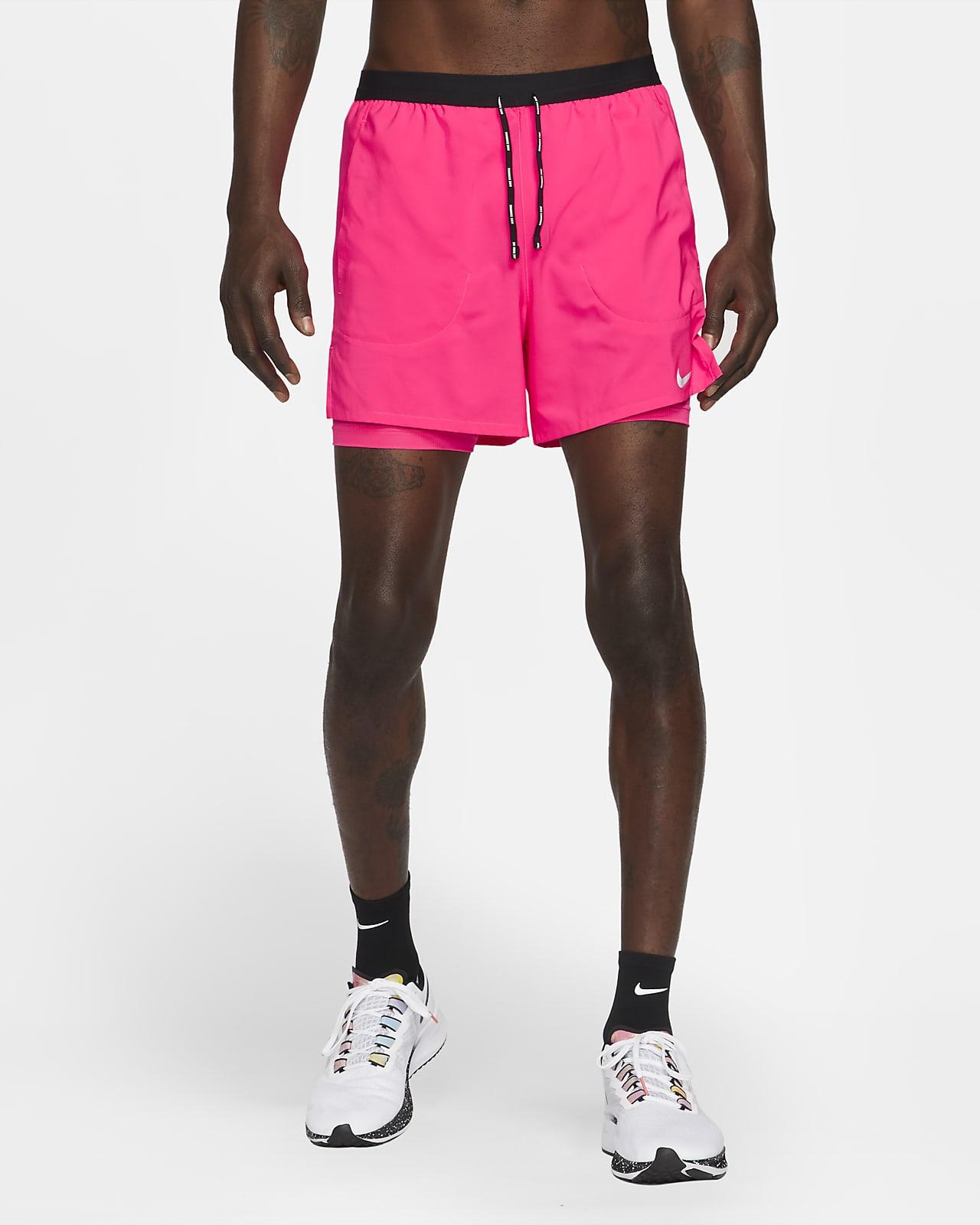 Nike Flex Stride 13 cm-es, 2 az 1-ben férfi futórövidnadrág