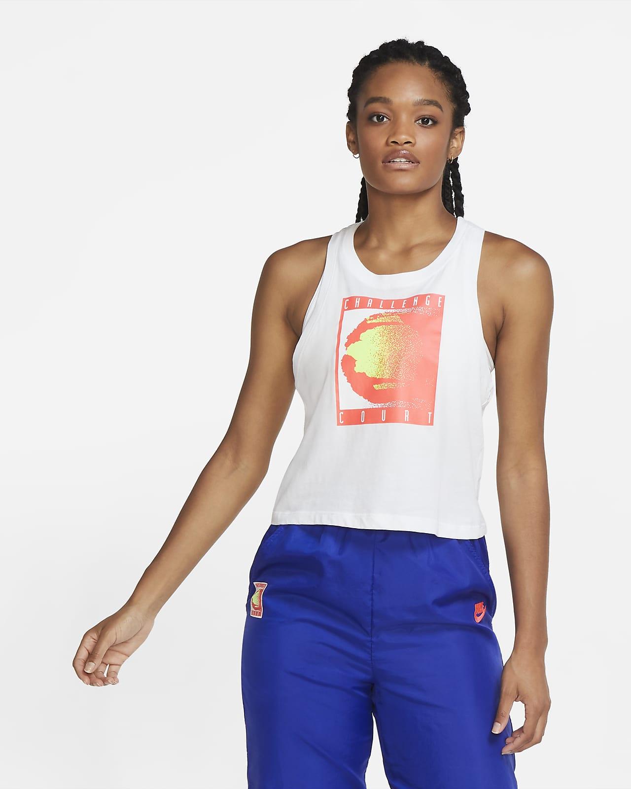 NikeCourt Women's Cropped Tennis Tank