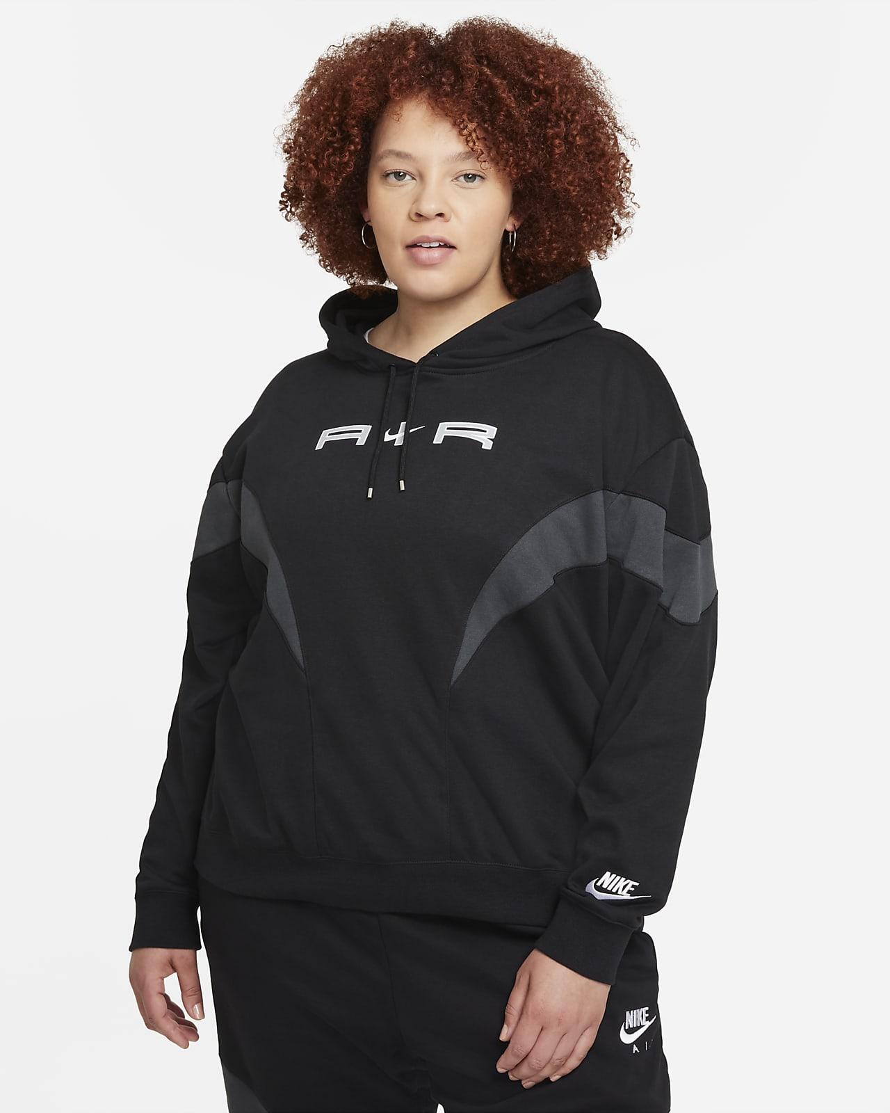 Sudadera con gorro para mujer Nike Air (talla grande)