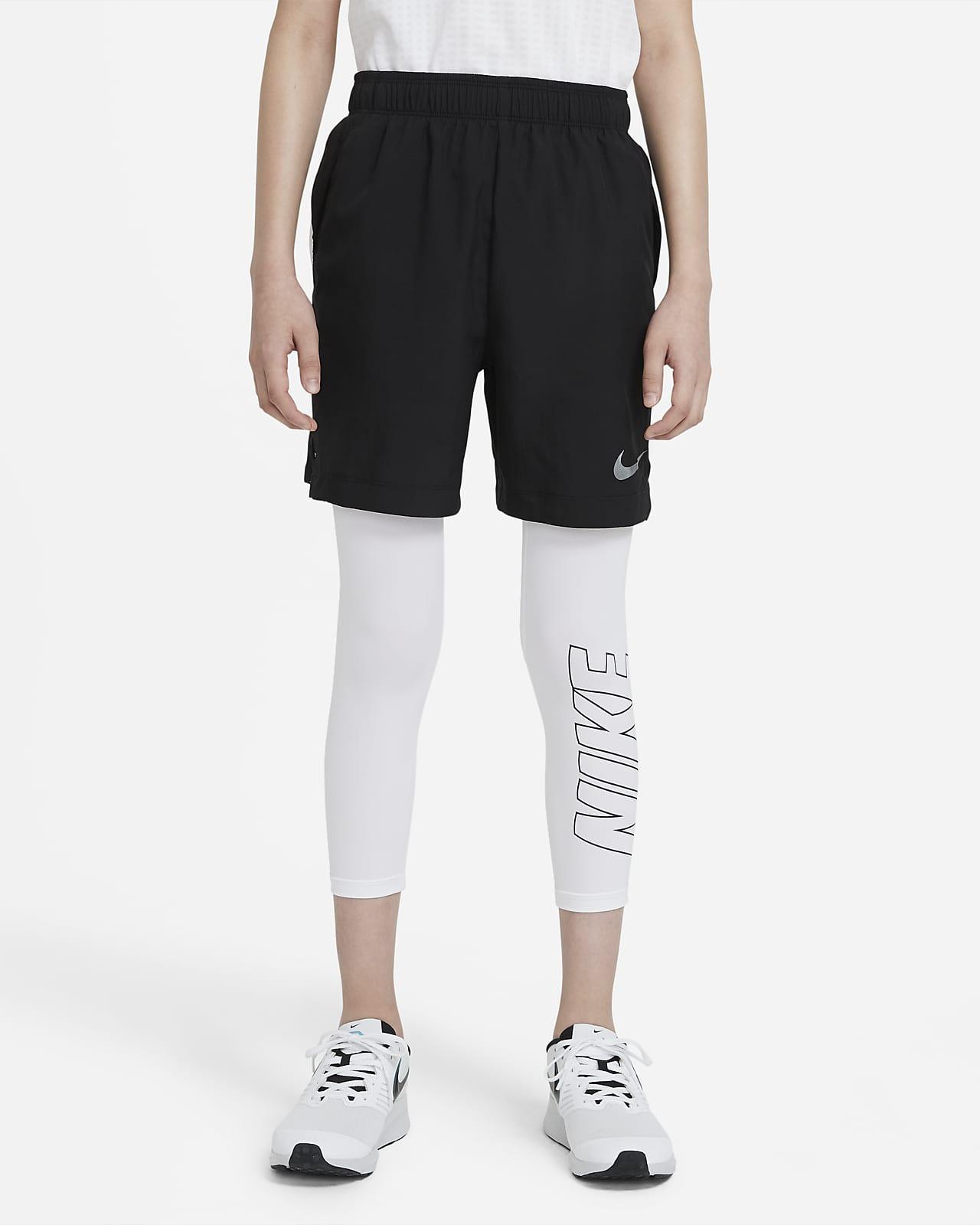Nike Big Kids' (Boys') 3/4-Length Graphic Training Tights
