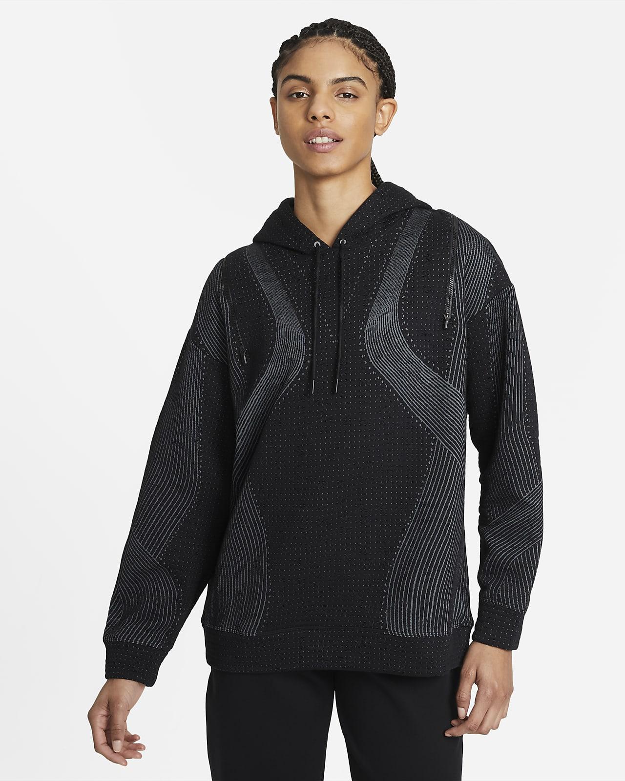 Damska bluza treningowa z kapturem Nike City Ready