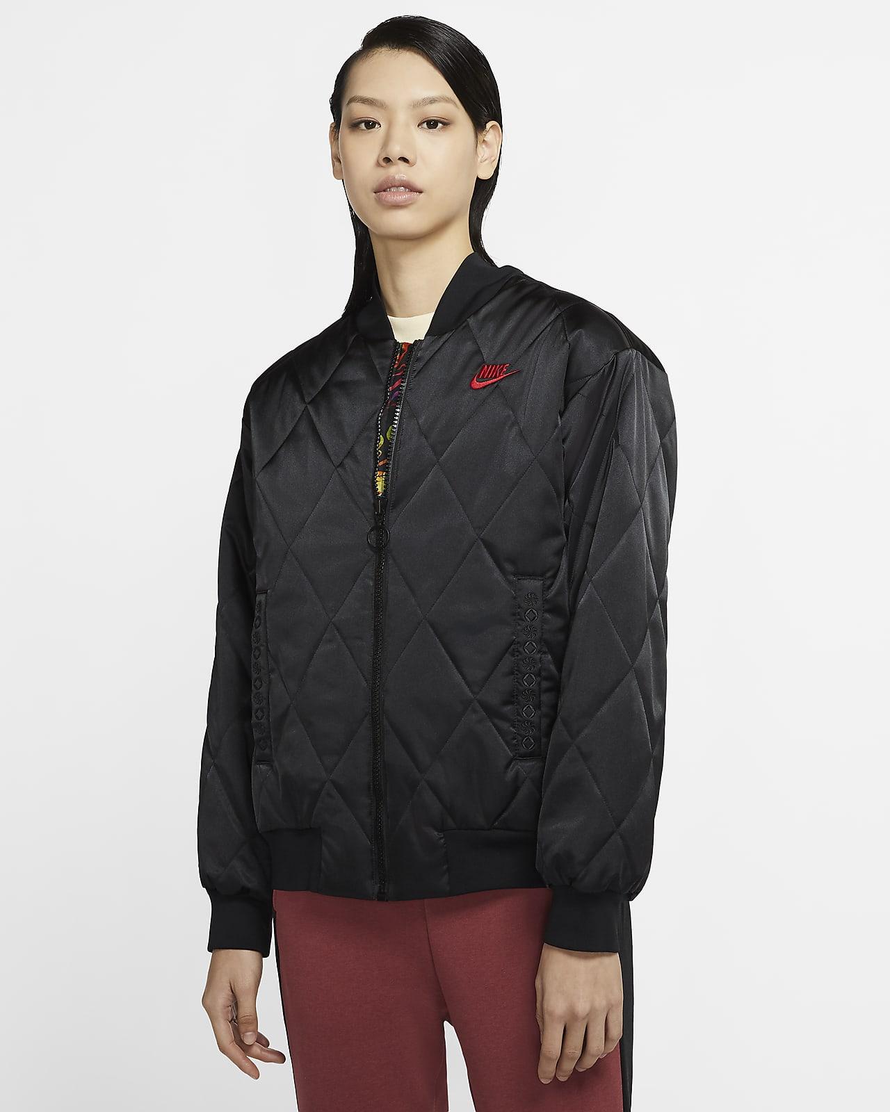 Nike Sportswear Synthetic-Fill 女子缎面夹克