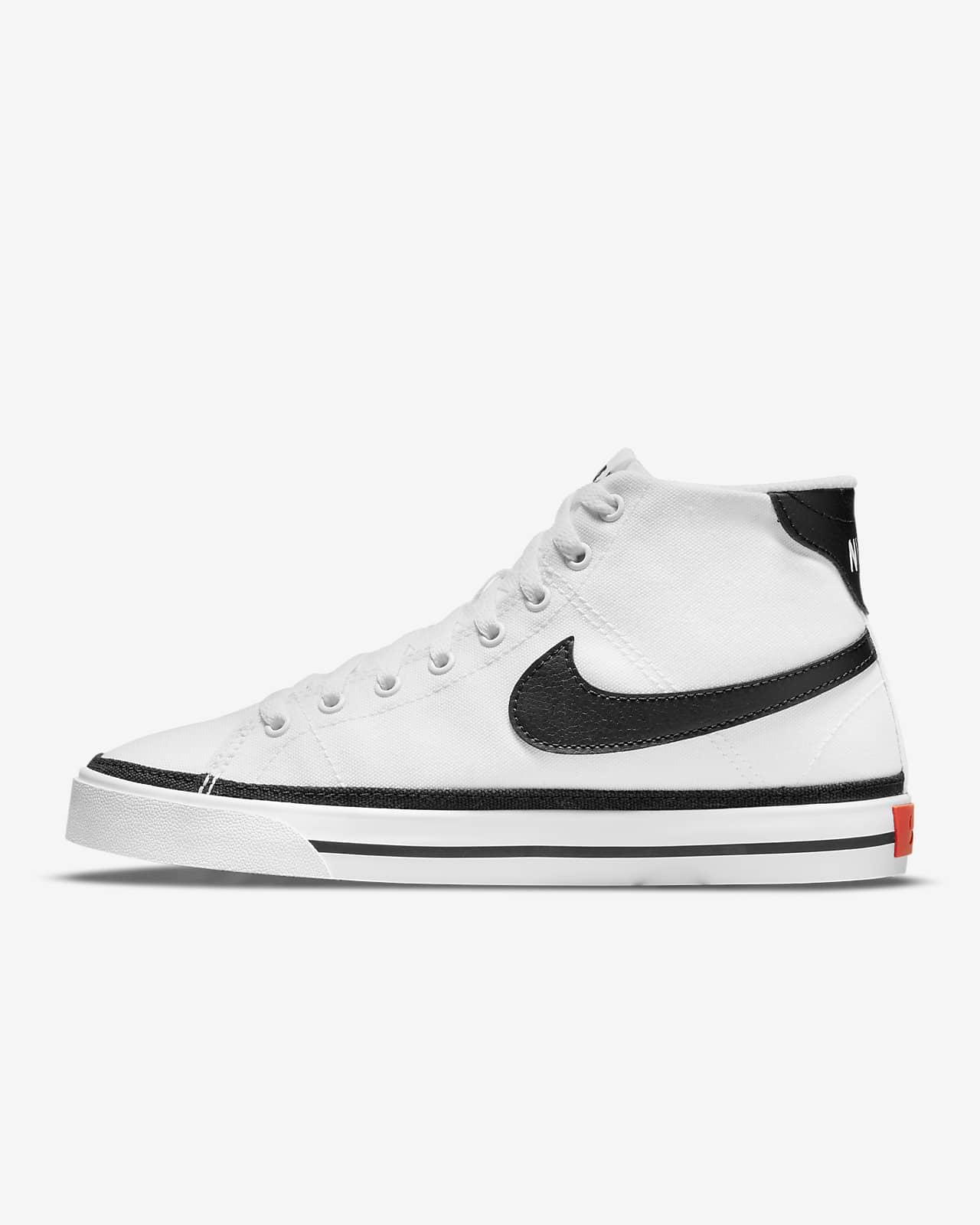 รองเท้าผู้หญิง Nike Court Legacy Canvas Mid