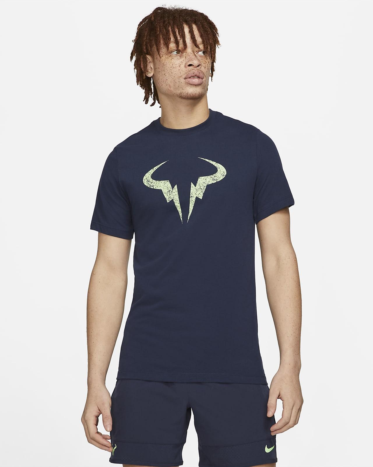 T-shirt de ténis Rafa para homem