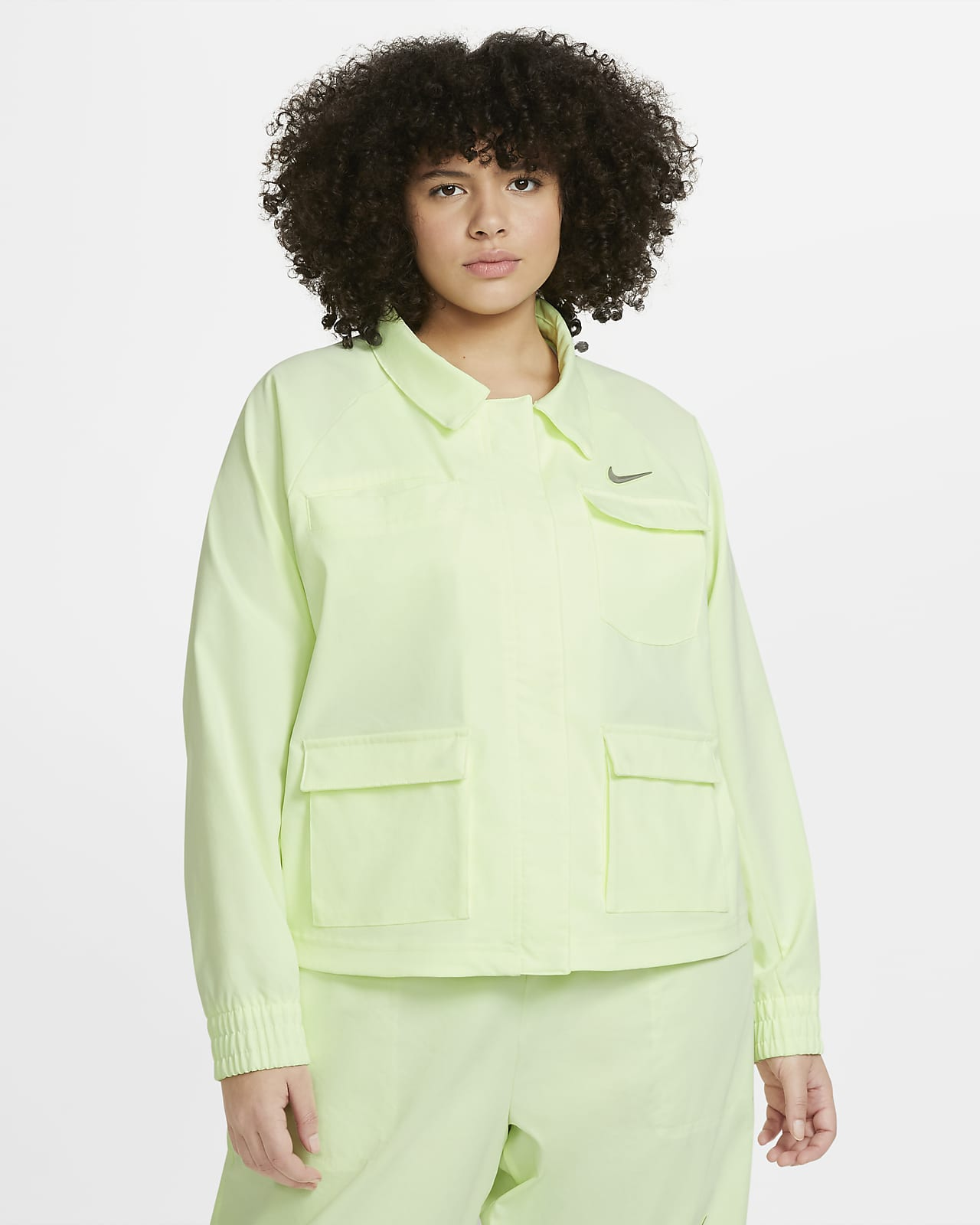 Nike Sportswear Swoosh Women's Jacket (Plus Size)