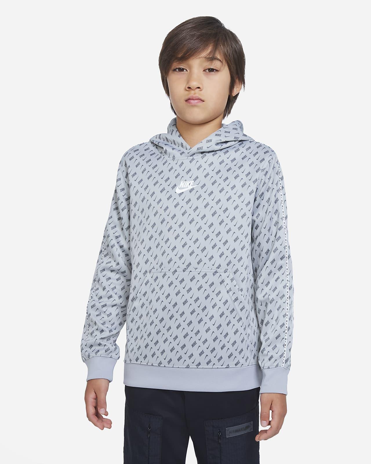 Nike Sportswear-hættetrøje til større børn (drenge)