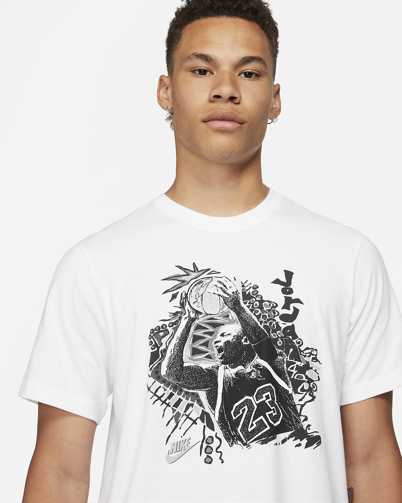 Jordan Vintage Herren T Shirt mit Grafik. Nike BE