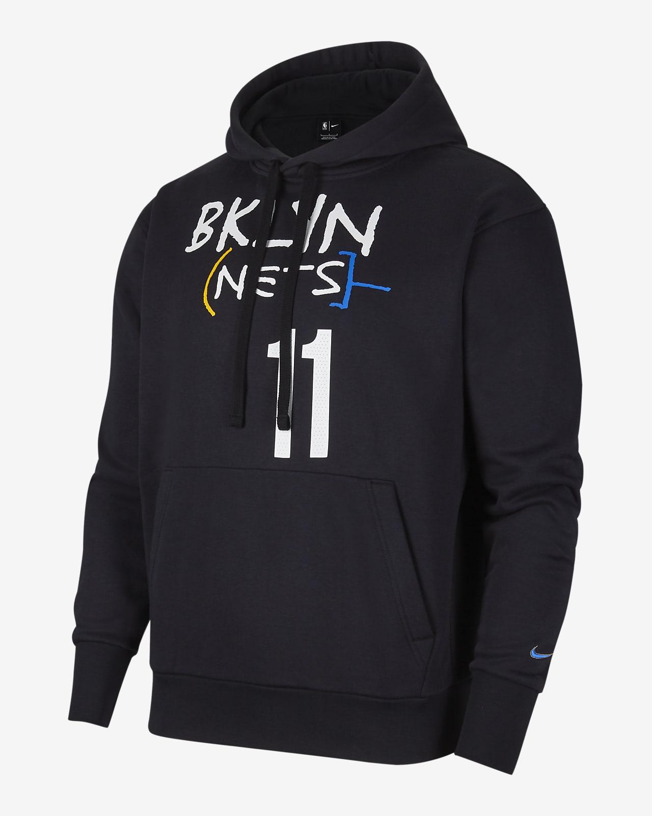 布鲁克林篮网队 City Edition Nike NBA 男子套头连帽衫
