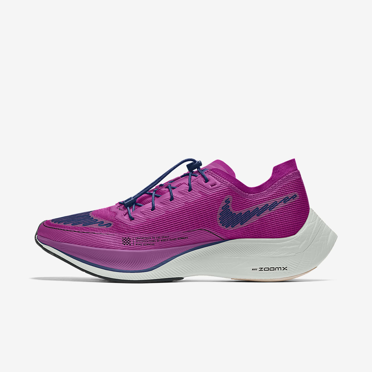 Nike ZoomX Vaporfly NEXT% 2 By You Men's Road Racing Shoes