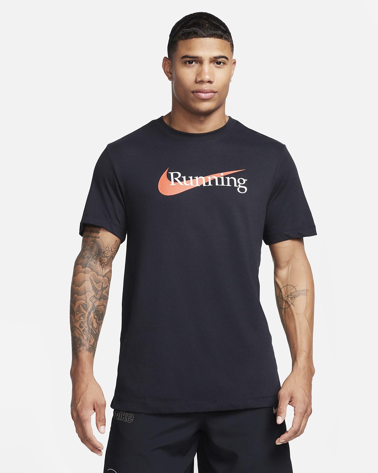 Nike Dri-FIT-løbe-T-shirt til mænd