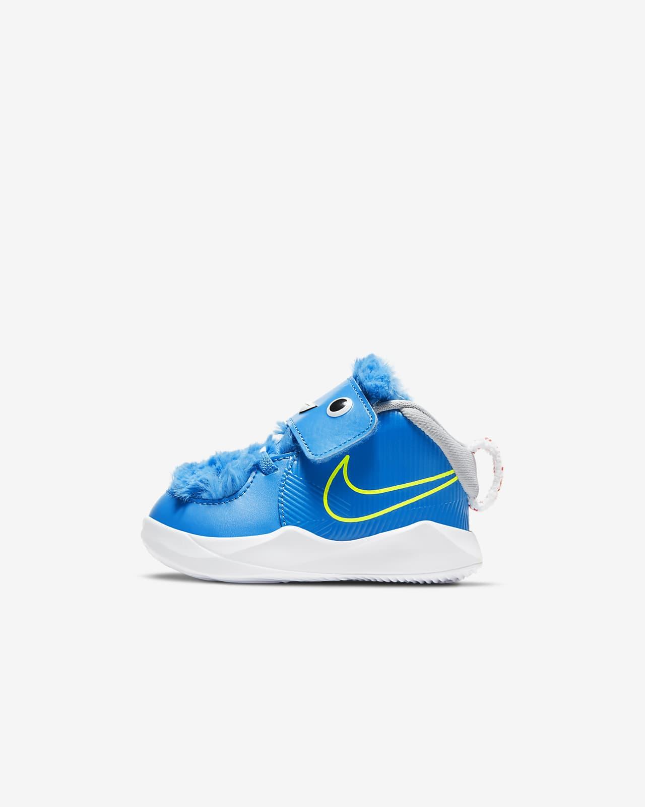 Nike Team Hustle D 9 Fast n Furry Baby & Toddler Shoe