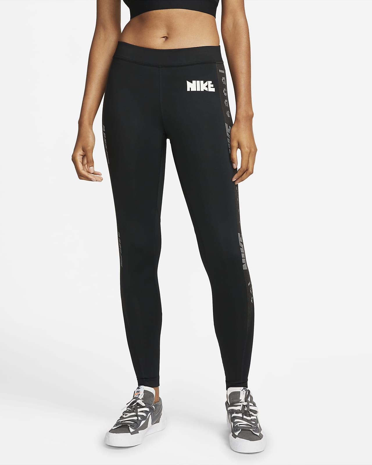 เลกกิ้งเอวปานกลาง Nike x sacai