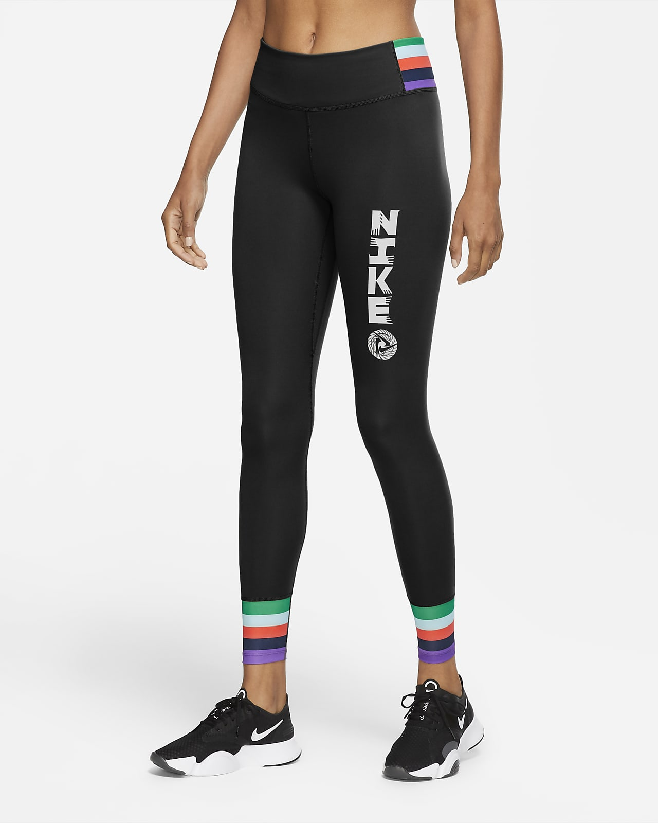 Nike One Icon Clash 女款九分緊身褲