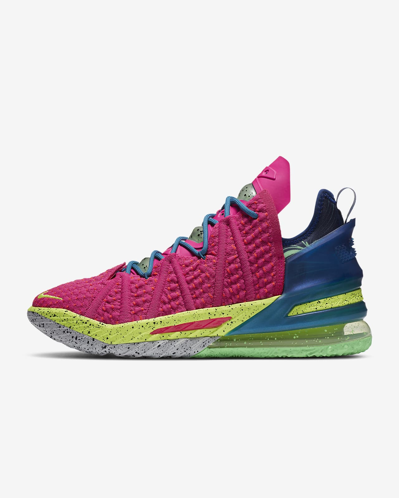 "LeBron 18 ""Los Angeles by Night"" Basketballschuh"