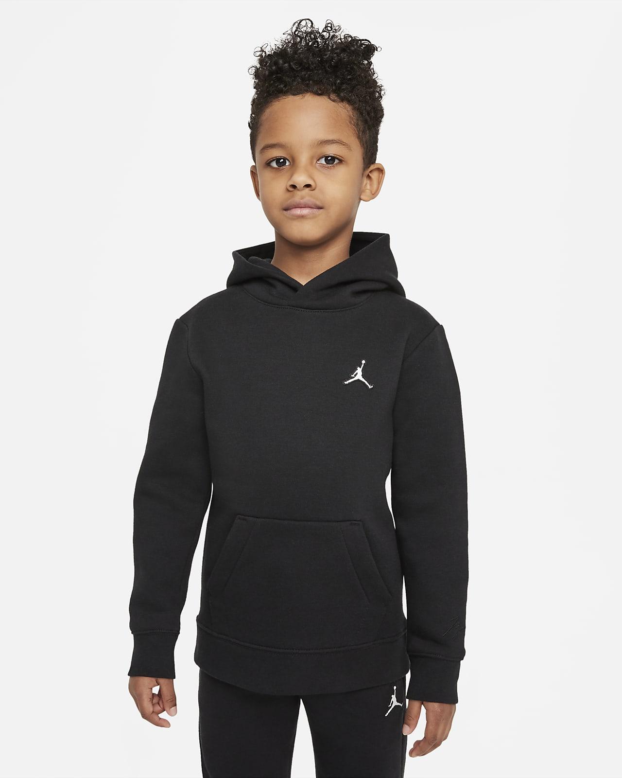 Sudadera con capucha sin cierre para niños talla pequeña Jordan