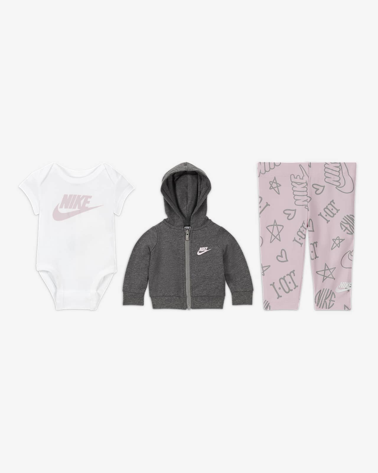 Nike Baby (0-9M) 3-Piece Set