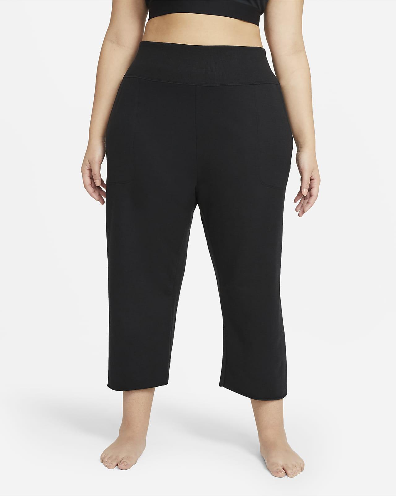 Nike Yoga Luxe Women's Cropped Fleece Pants (Plus Size)
