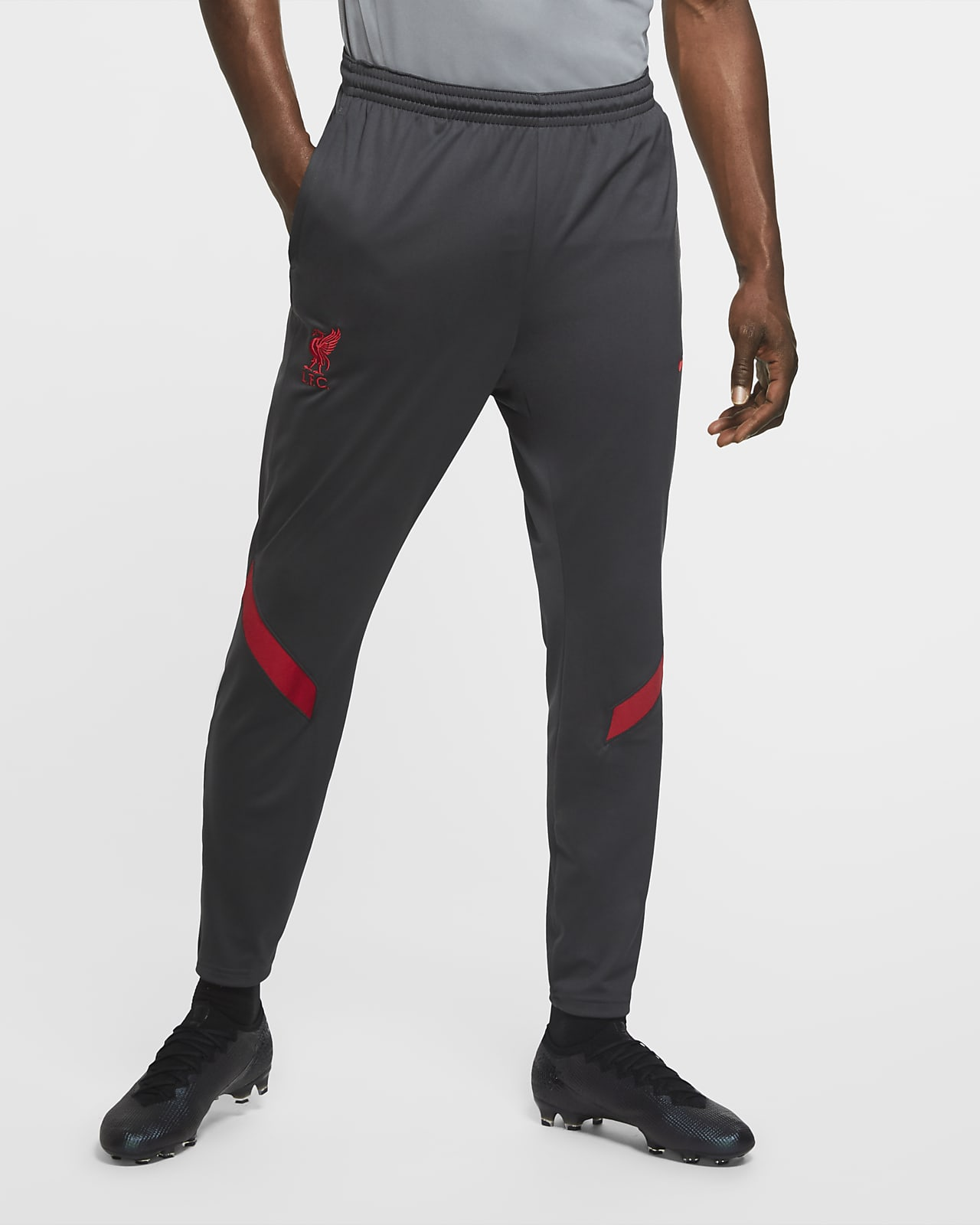 Liverpool FC Strike Men's Knit Soccer Track Pants