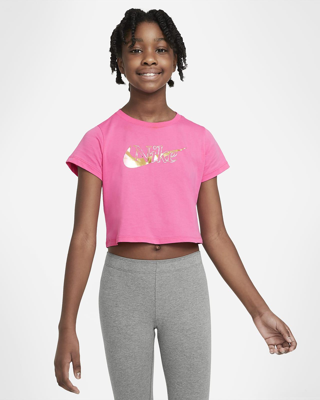 T-shirt dla dużych dzieci (dziewcząt) Nike Sportswear